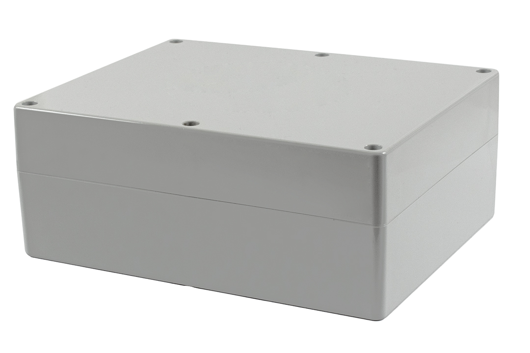 1555YA2GY - 1555 Series Water-Tight Polycarbonate (UL Listed) Enclosures with Grey Lid