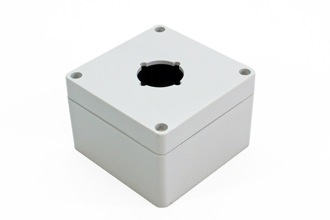 1554PB1 - 1554PB Series Type 4, 4X Polycarbonate Pushbutton Enclosures with 30.5mm Hole