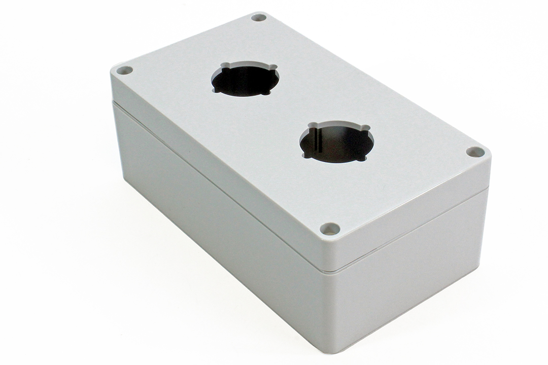 1554PB2 - 1554PB Series Type 4, 4X Polycarbonate Pushbutton Enclosures with 30.5mm Hole