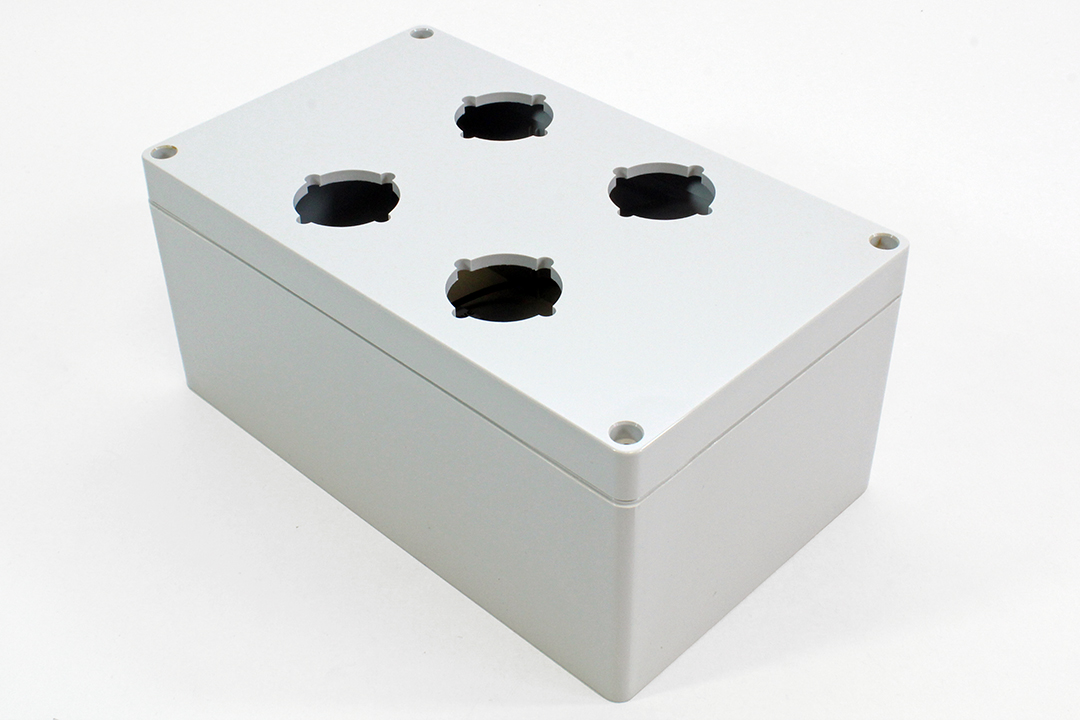 1554PB4 - 1554PB Series Type 4, 4X Polycarbonate Pushbutton Enclosures with 30.5mm Hole