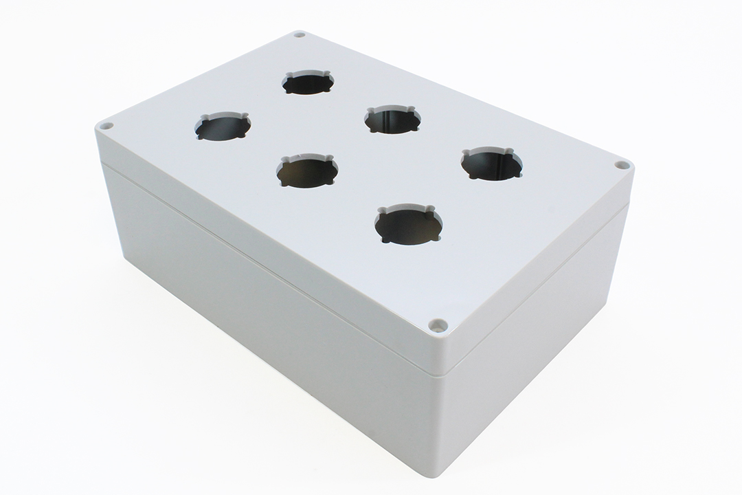 1554PB6 - 1554PB Series Type 4, 4X Polycarbonate Pushbutton Enclosures with 30.5mm Hole