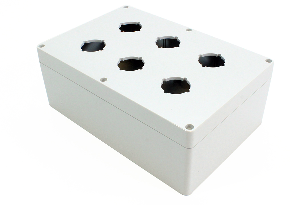 1554PB6A - 1554PB Series Type 4, 4X Polycarbonate Pushbutton Enclosures with 30.5mm Hole