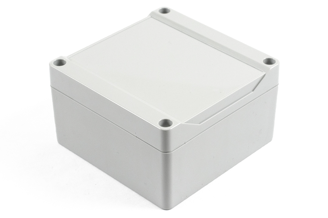 1555LGY - 1555 Series Water-Tight General Purpose ABS Enclosures with Grey Lid