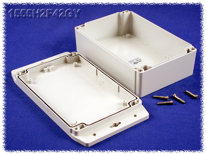 1555H2F42GY - 1555F Series Enclosures