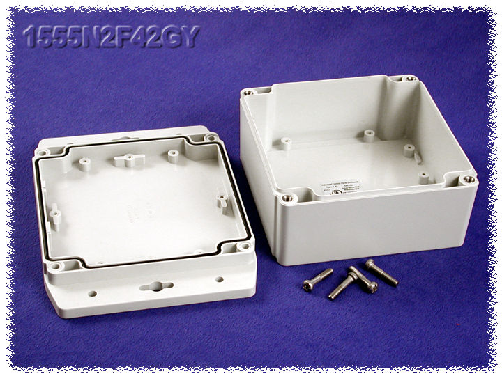 1555N2F42GY - 1555F Series Enclosures