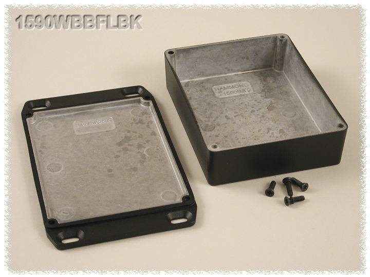 1590WBBFLBK - 1590 Series Enclosures