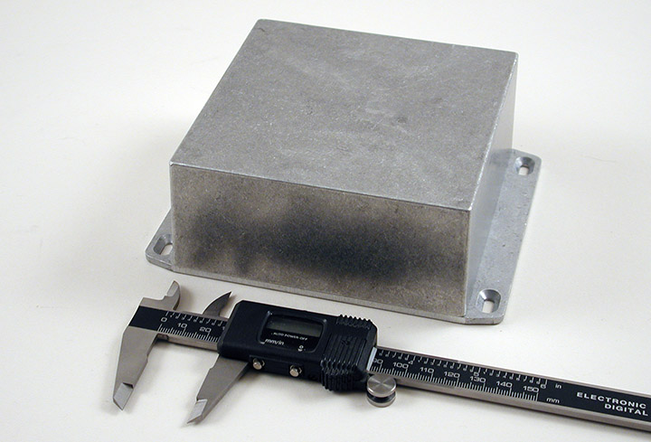 1590KKFL - 1590 Series General Purpose Die-Cast Aluminium Enclosures with Flanged Lid