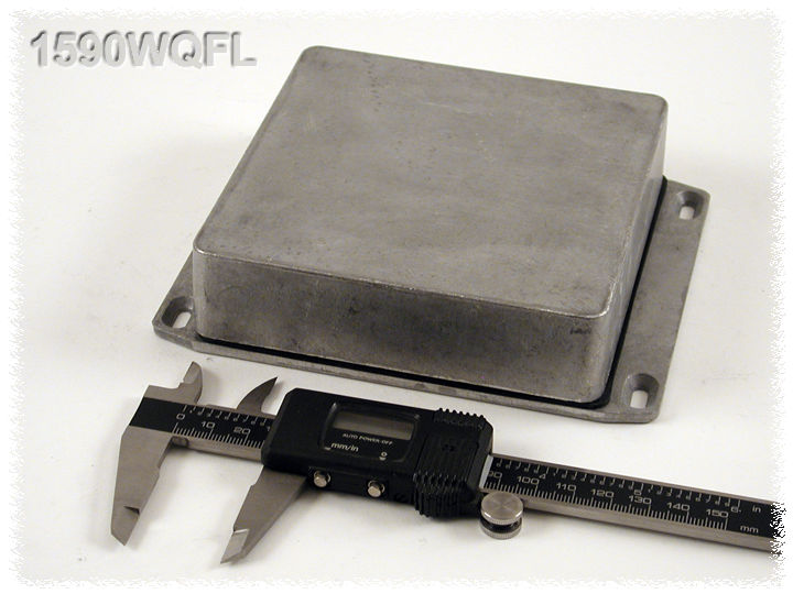 1590WQFL - 1590 Series Water-Tight General Purpose Die-Cast Aluminium Enclosures with Flanged Lid