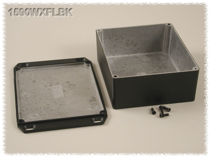 1590WXFLBK - 1590 Series Enclosures
