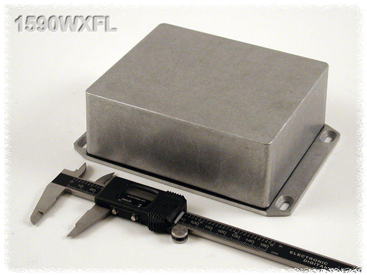 1590WXFL - 1590 Series Water-Tight General Purpose Die-Cast Aluminium Enclosures with Flanged Lid