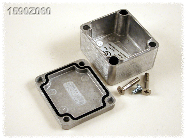 1590Z060 - 1590Z Series Watertight Type 4X / 6P Diecast Aluminium Enclosures