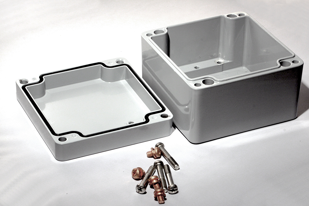 1590Z119GY - 1590Z Series Enclosures
