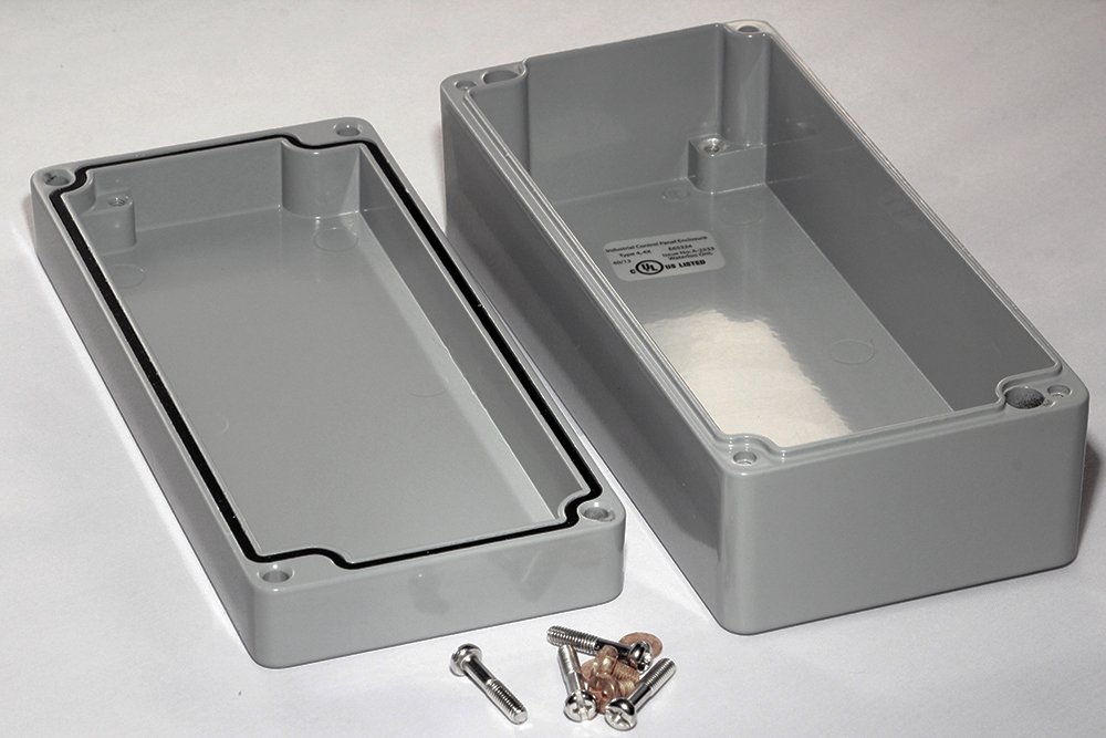 1590Z135GY - 1590Z Series Enclosures