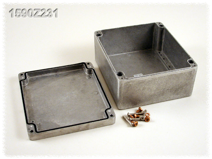 1590Z231 - 1590Z Series Watertight Type 4X / 6P Diecast Aluminium Enclosures