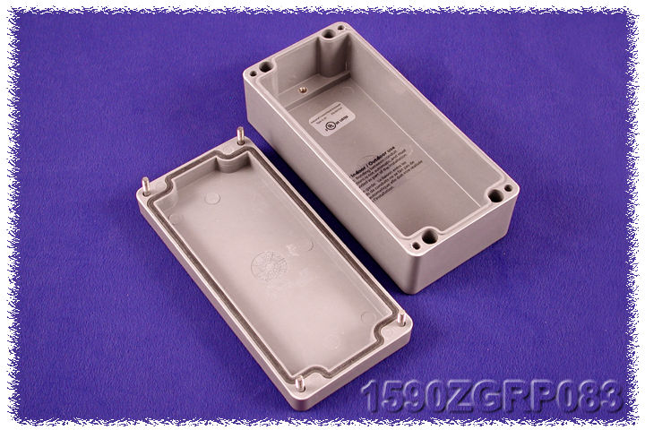 1590ZGRP083 - 1590ZGRP Series Type 4, 4X Glass Reinforced Polyester Enclosures