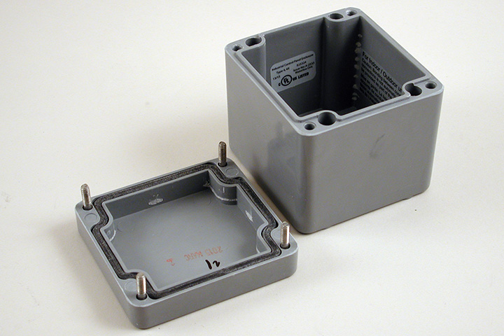1590ZGRP084 - 1590ZGRP Series Type 4, 4X Glass Reinforced Polyester Enclosures