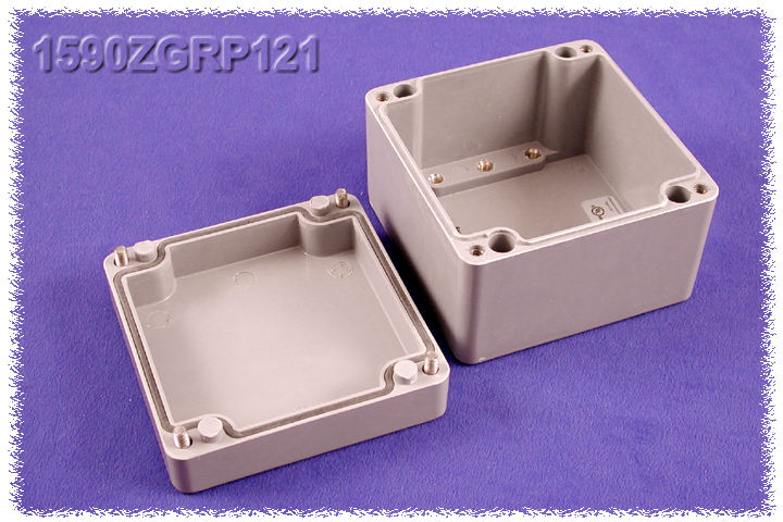 1590ZGRP121 - 1590ZGRP Series Type 4, 4X Glass Reinforced Polyester Enclosures