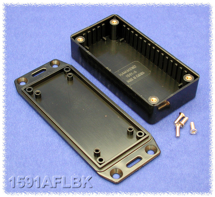 1591AFLBK - 1591 Series Enclosures