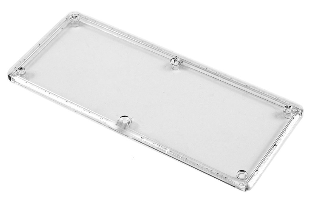 1591HC - 1591 Series Enclosures Clear Lid