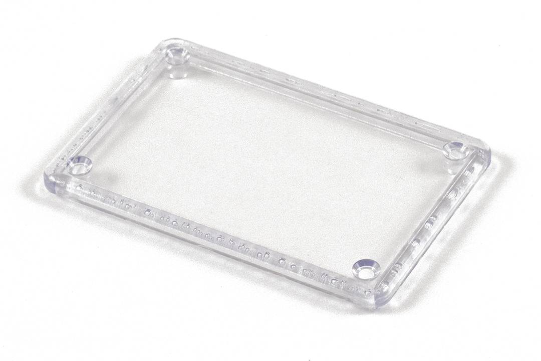 1591LC - 1591 Series Enclosures Clear Lid