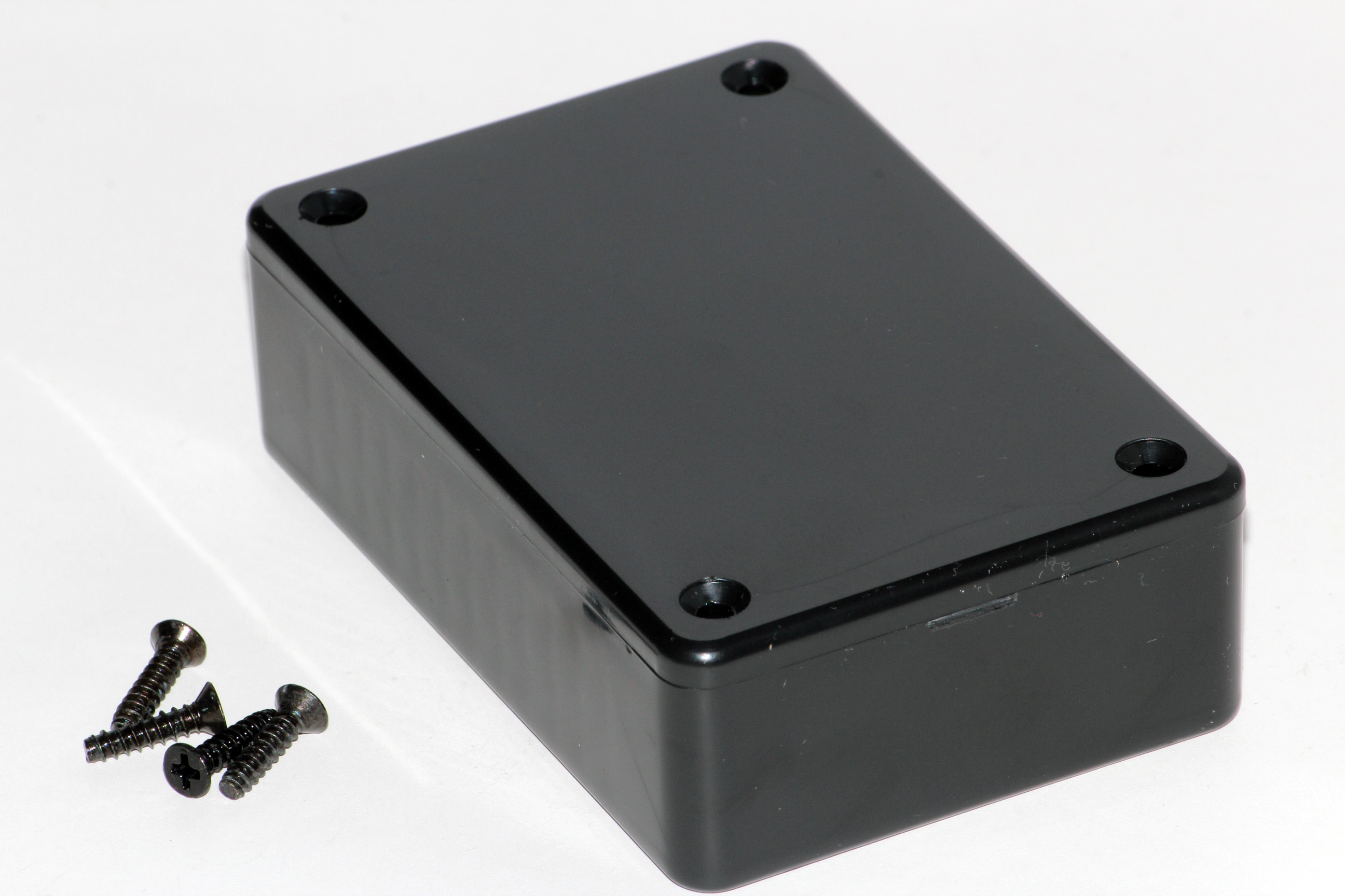 1591MSBK - 1591 Series Multipurpose General Purpose ABS Plastic Enclosures with Card Guides