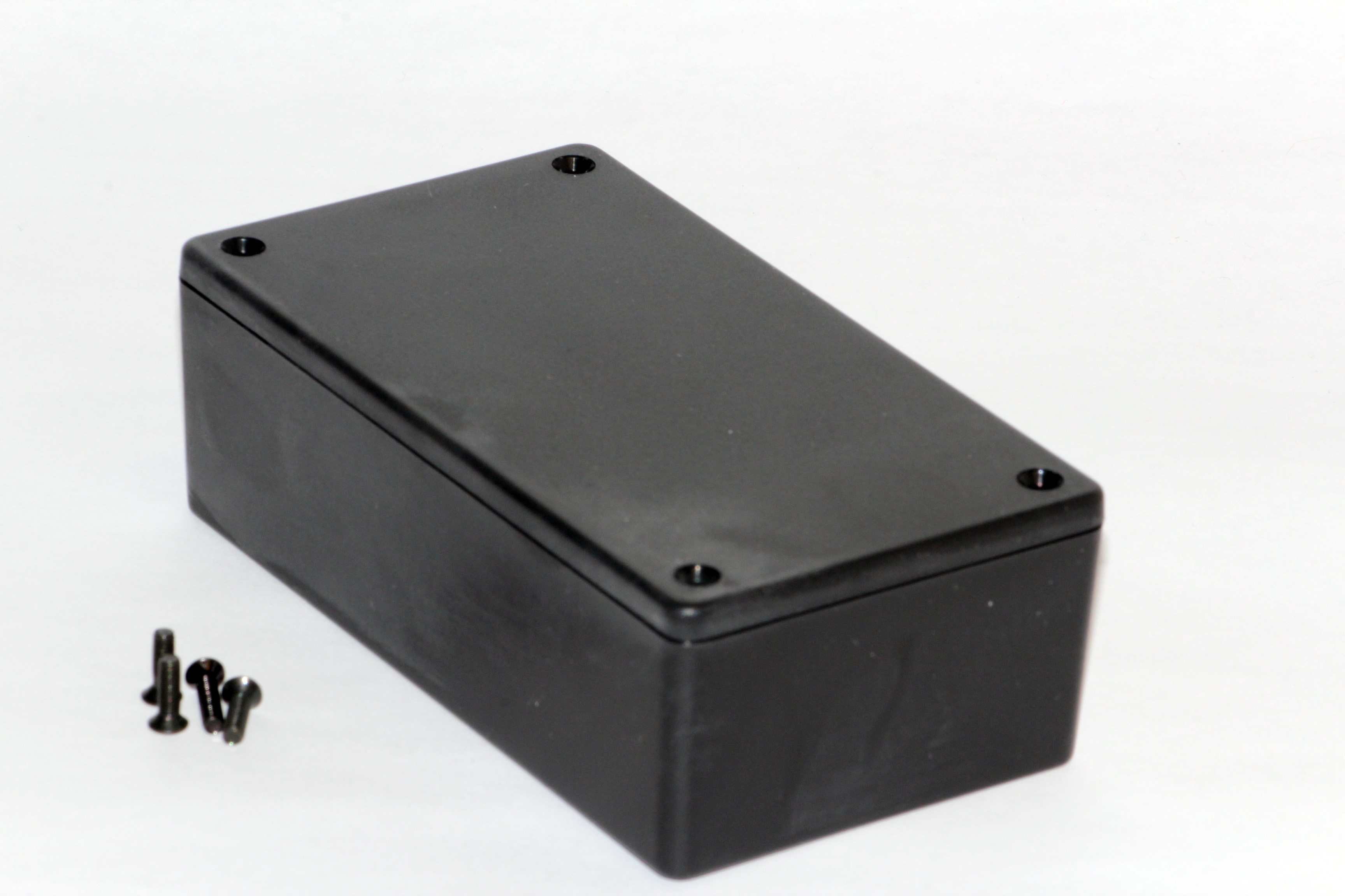 1591XXCBK - 1591XX Series ABS Plastic Mult-Purpose Enclosures with PC Board Standoffs