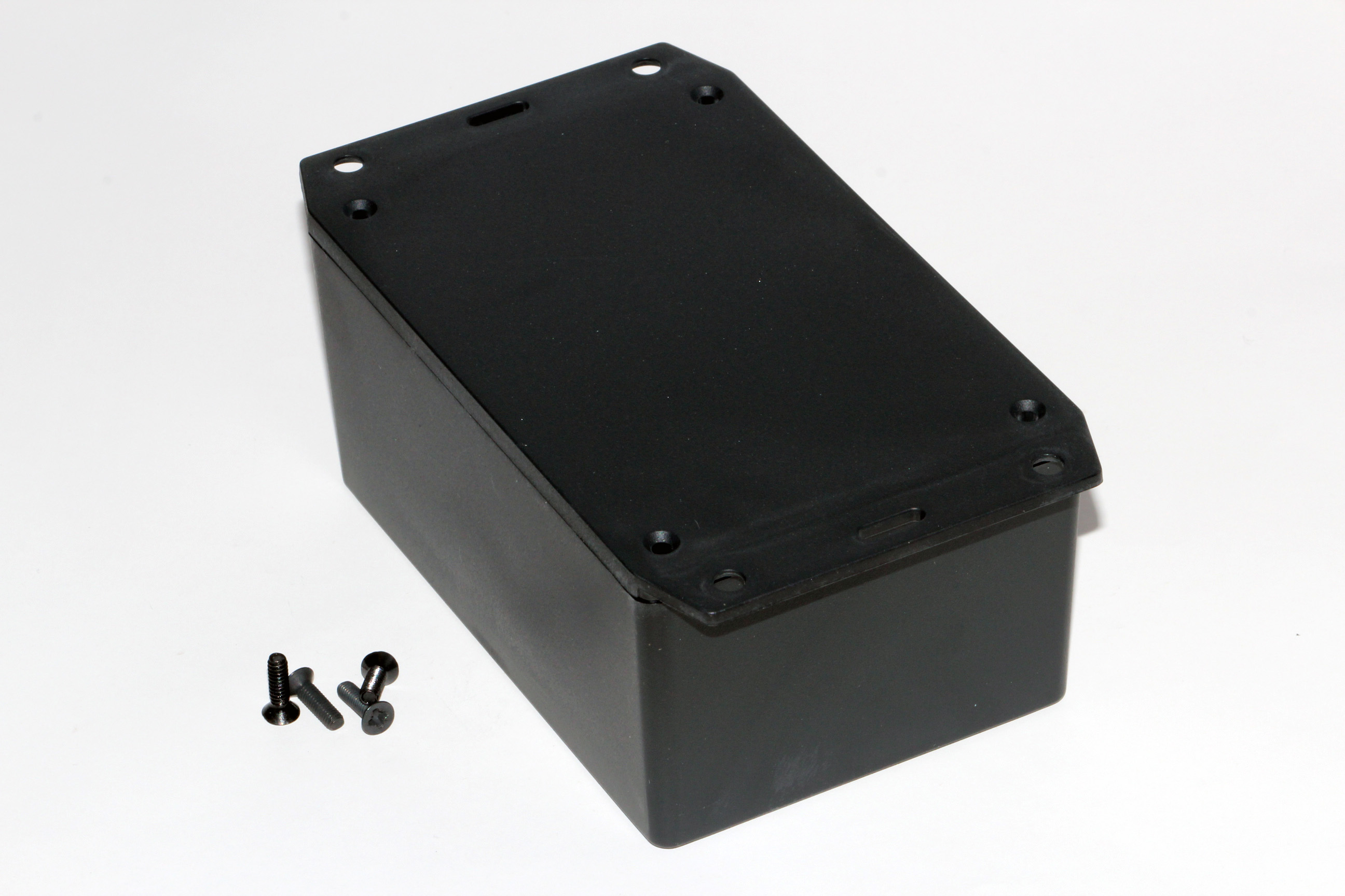 1591XXTFLBK - 1591XX Series ABS Plastic Mult-Purpose Enclosures with Mounting Flanges