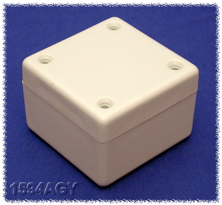1594AGY - 1594 Series Flame-Retardant Multipurpose Heavy Duty ABS Enclosures