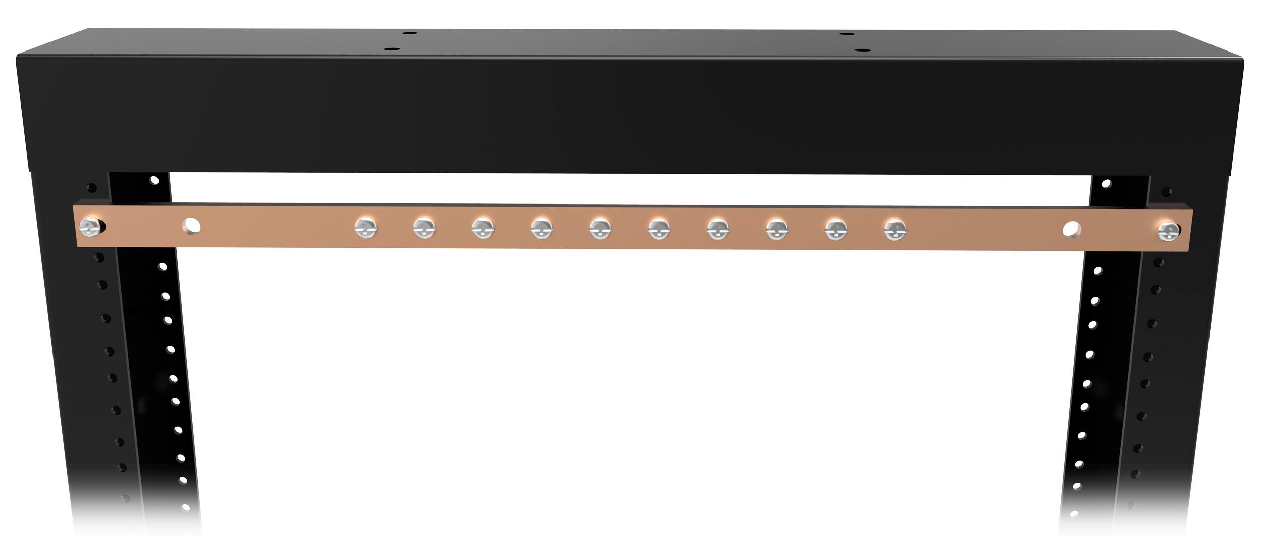 Copper Busbar Grdbar Series Hammond Mfg
