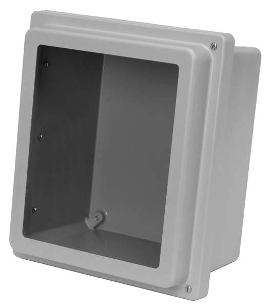 Type 4x Polyester Junction Box W Raised Lid Solid And