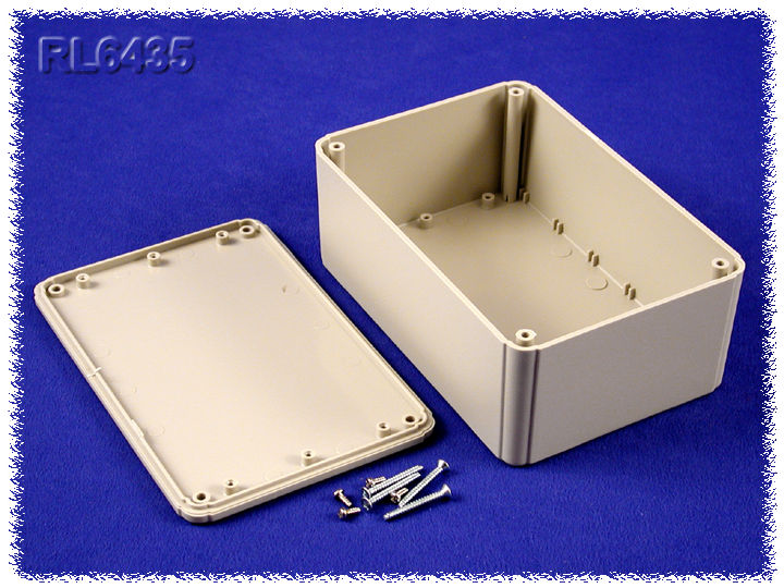 RL6435 - RL Series ABS Plastic Product Enclosures with Shallow Lid
