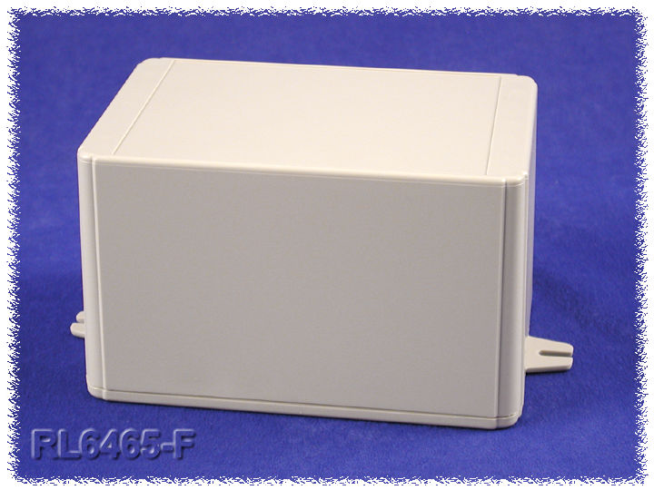 RL6465-F - RL Series ABS Plastic Product Enclosures with Shallow Lid and Wall Mounting Flanges