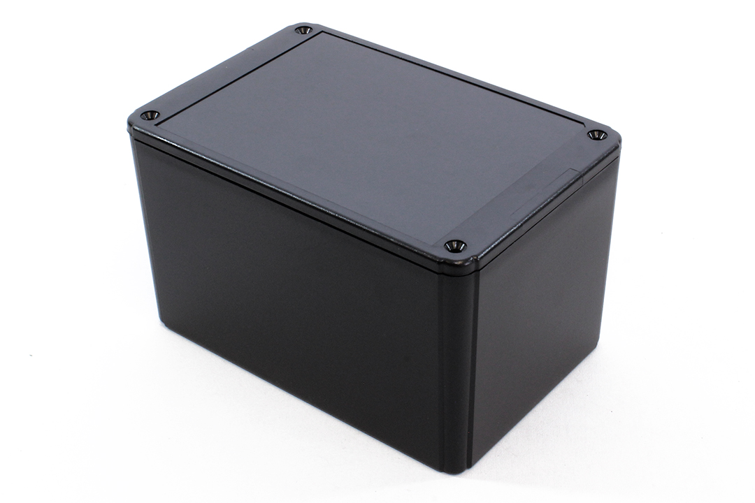 RL6465BK - RL Series ABS Plastic Product Enclosures with Shallow Lid