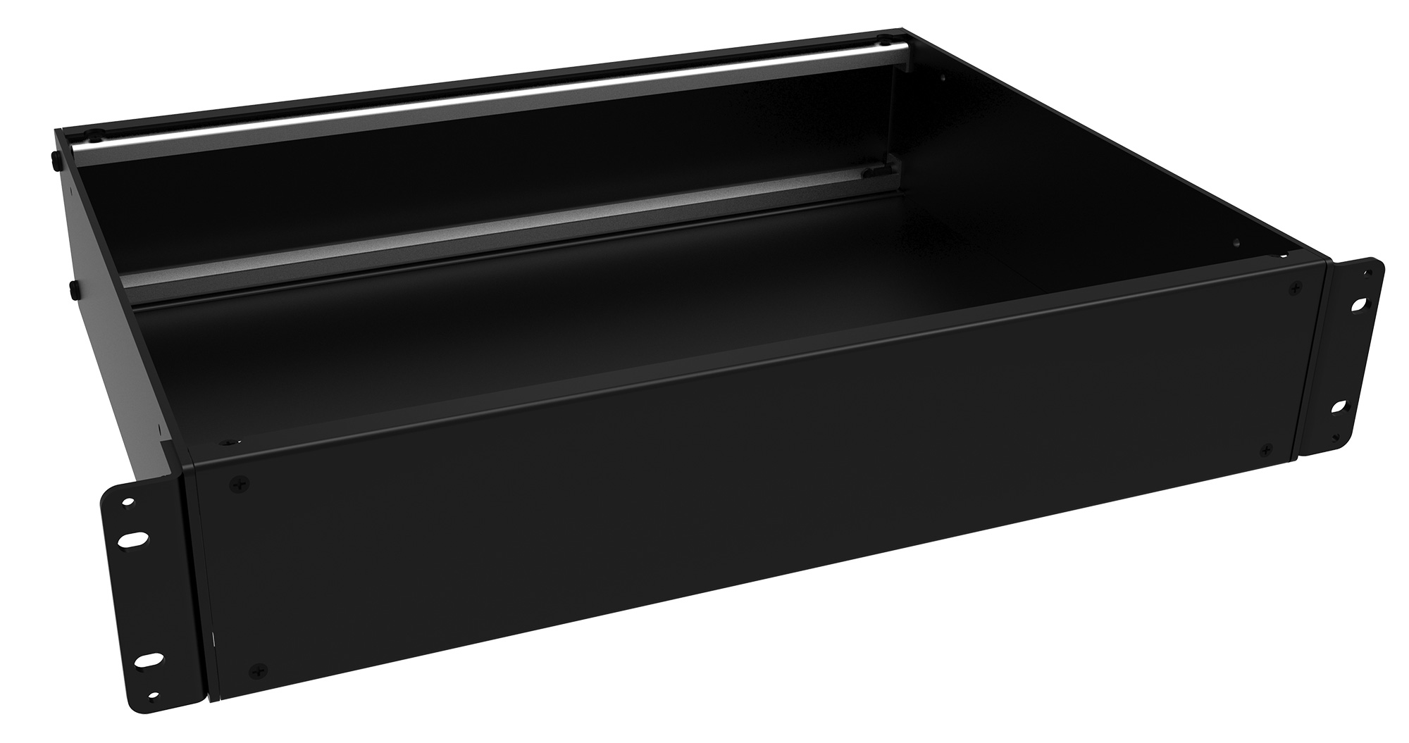 RMCS190313BK1 - RMC Series Rack-Mounting Instrument Enclosure with Solid Top/Bottom