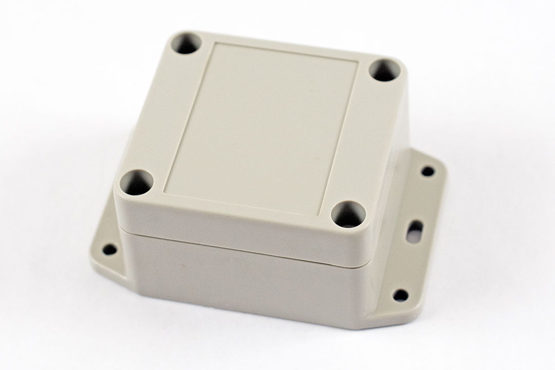 RP1025BF - RP Series Water-Tight ABS Plastic Enclosures with Opaque Lid and Bottom Flange
