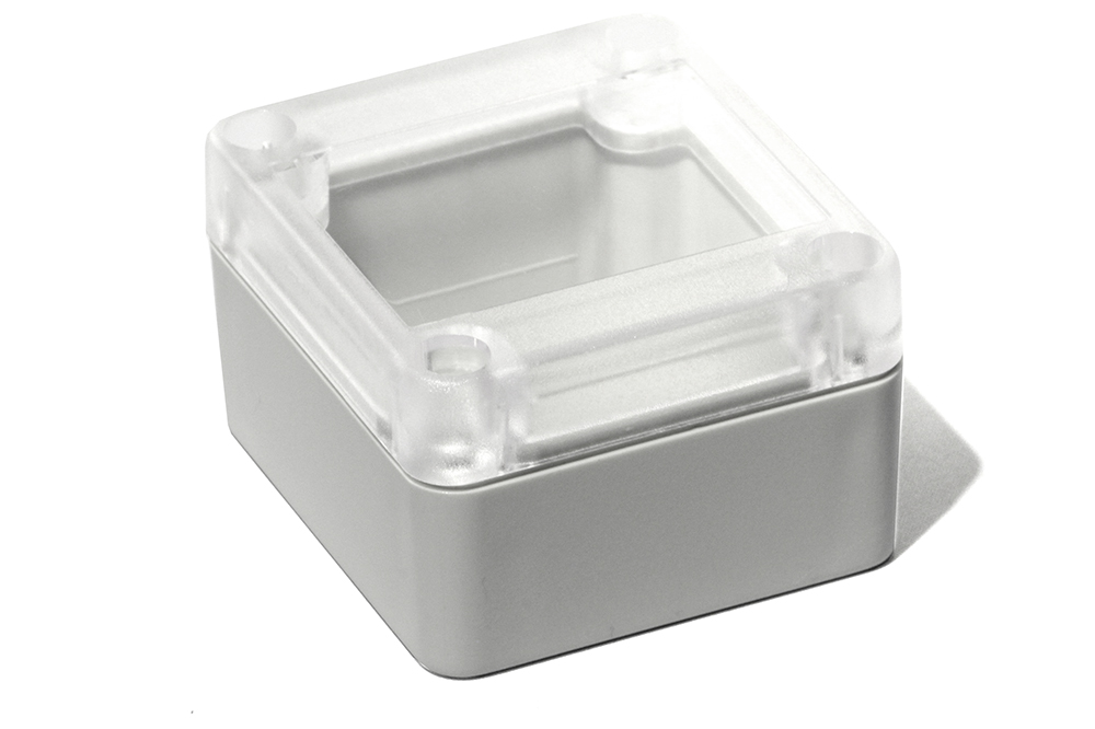 RP1025C - RP Series Water-Tight ABS Plastic Enclosures with Clear Lid