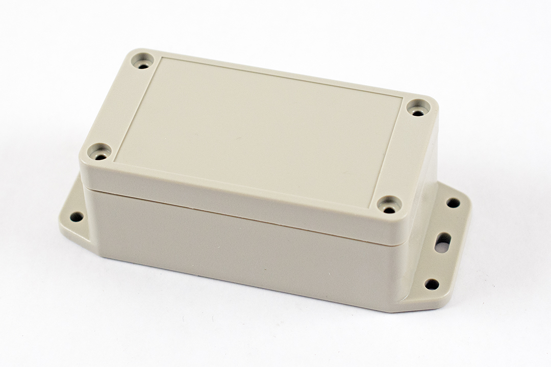RP1035BF - RP Series Water-Tight ABS Plastic Enclosures with Opaque Lid and Bottom Flange