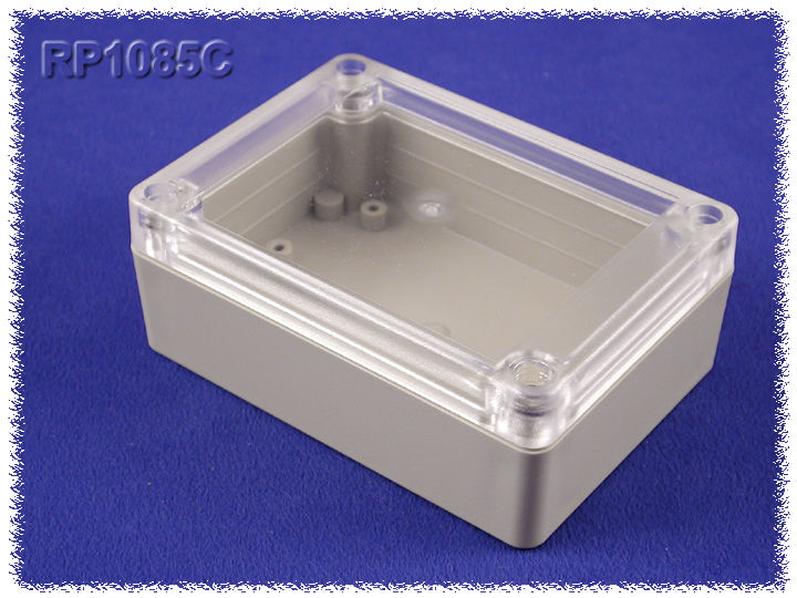 RP1085C - RP Series Water-Tight ABS Plastic Enclosures with Clear Lid
