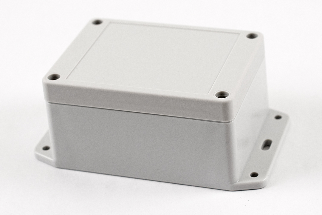 RP1090BF - RP Series Water-Tight Polycarbonate Enclosures with Opaque Lid and Bottom Flange