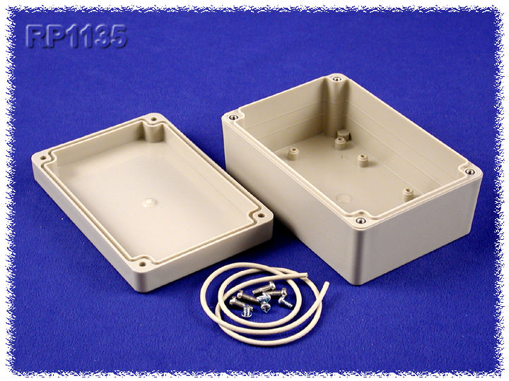 RP1135 - RP Series Water-Tight ABS Plastic Enclosures with Opaque Lid