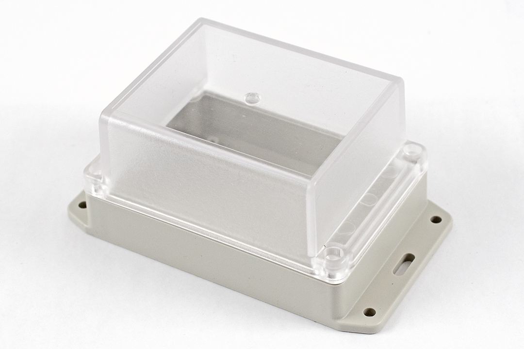 RP1145BFC - RP Series Water-Tight ABS Plastic Enclosures with Clear Lid and Bottom Flange