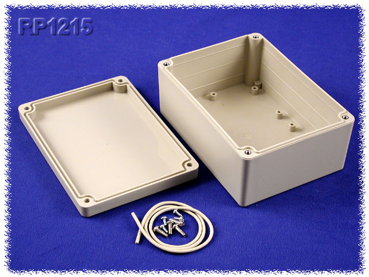 RP1215 - RP Series Water-Tight ABS Plastic Enclosures with Opaque Lid