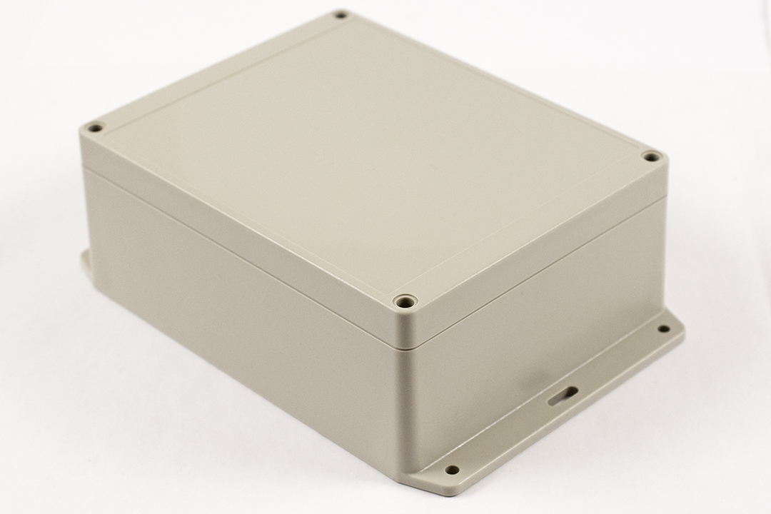 RP1285BF - RP Series Water-Tight ABS Plastic Enclosures with Opaque Lid and Bottom Flange
