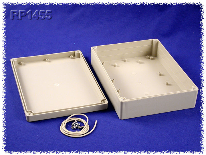 RP1455 - RP Series Water-Tight ABS Plastic Enclosures with Opaque Lid