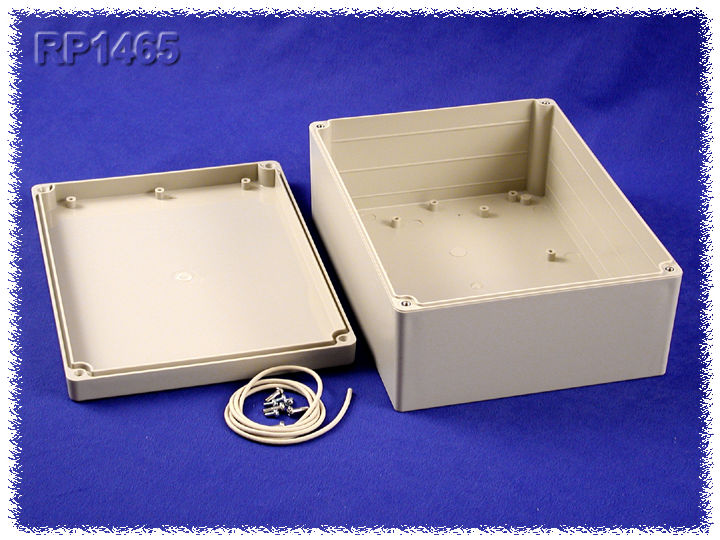 RP1465 - RP Series Water-Tight ABS Plastic Enclosures with Opaque Lid